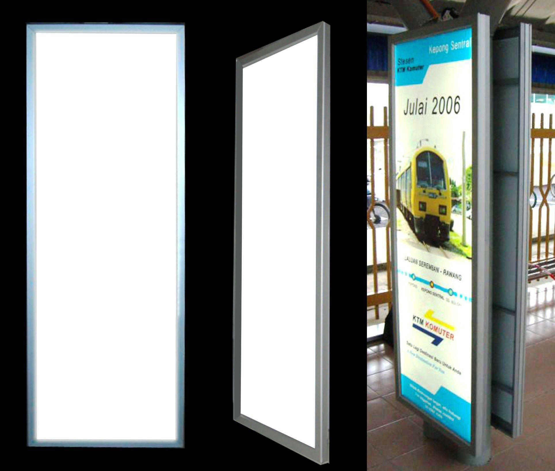 Moonbright Advertising Slim Amp Thin Light Box Light Panel