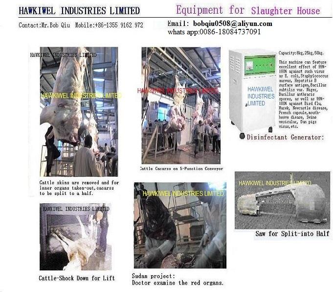 Meat processing equipment/machines, Buy from Hawkiwel Industries