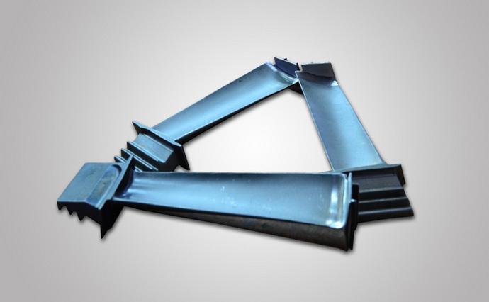 Vacuum casting gas turbine parts turbine compressor blade, Buy from