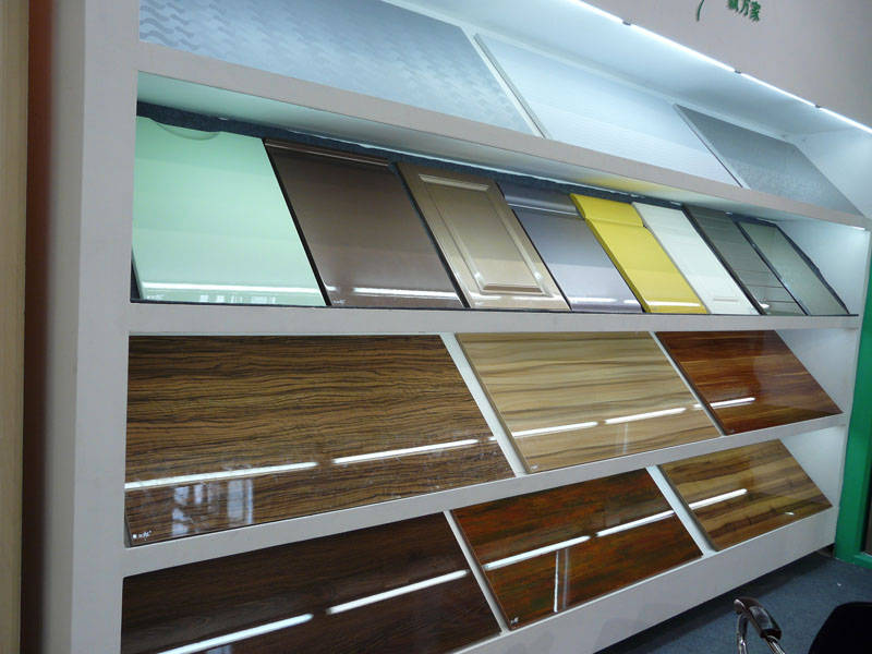 High Gloss Pet Film Laminated Mdf Board For Kitchen Cabinet Buy
