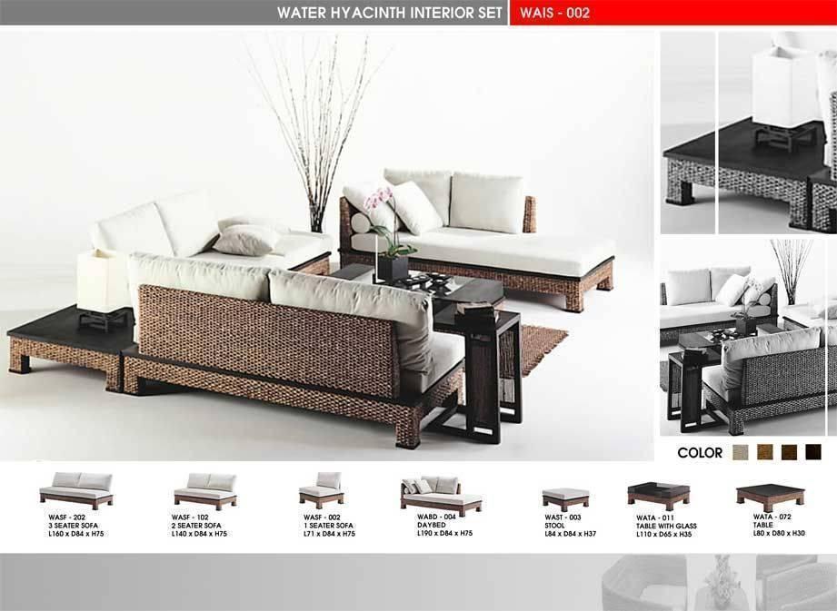 Water Hyacinth Furniture, Buy from Atc Furniture Furnishings Corp