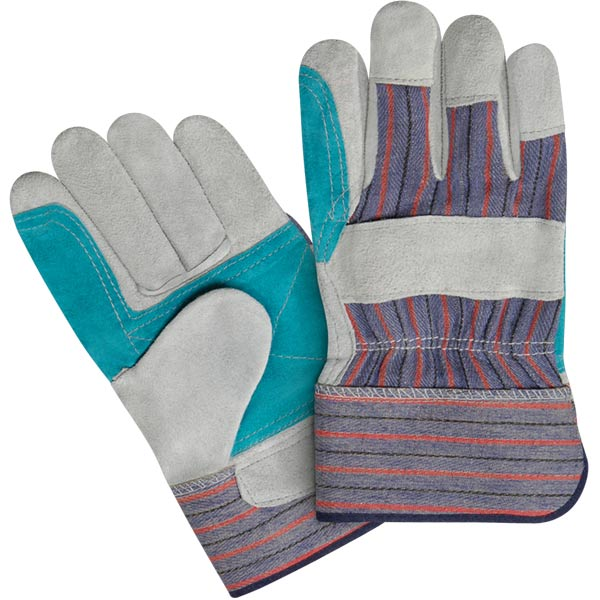 Working Gloves, Made of Split Leather, Buy from New Point Impex