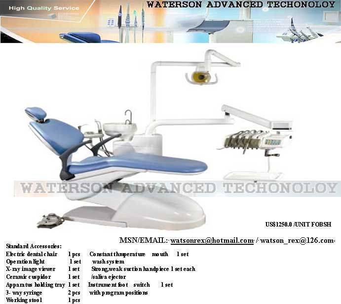 Dental unit (chair) + Parts Selection, Buy from Watson
