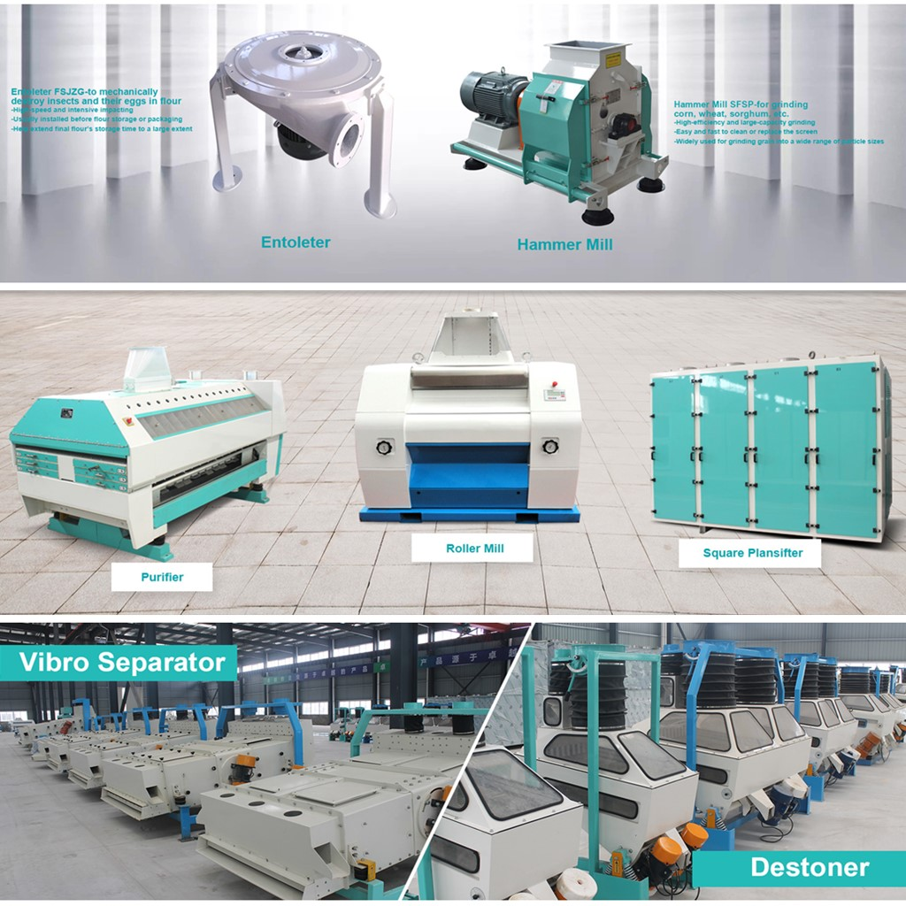 Grain Cleaning Machinery and Flour Mill Machinery, Buy from