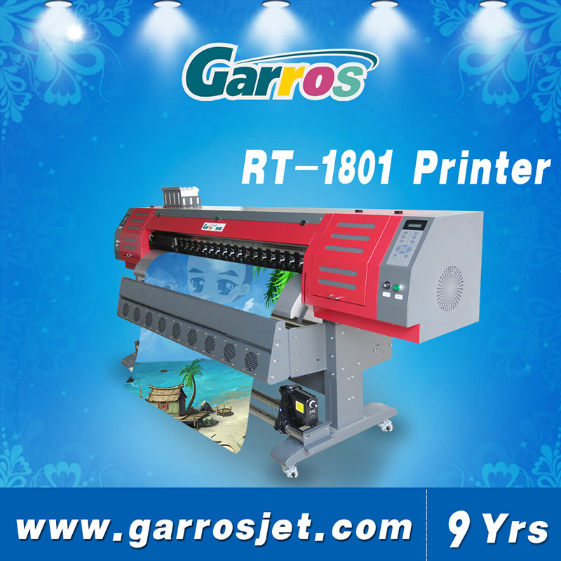 Flex Banner Printer Wallpaper Printing Machine Eco Slovent