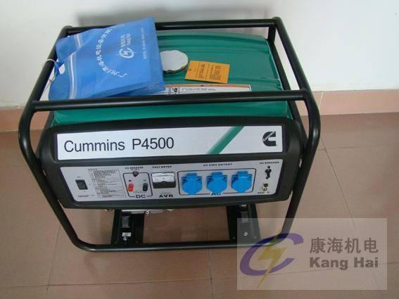 Cummins portable home use gasonline single phase gennerator 2KW-5KW
