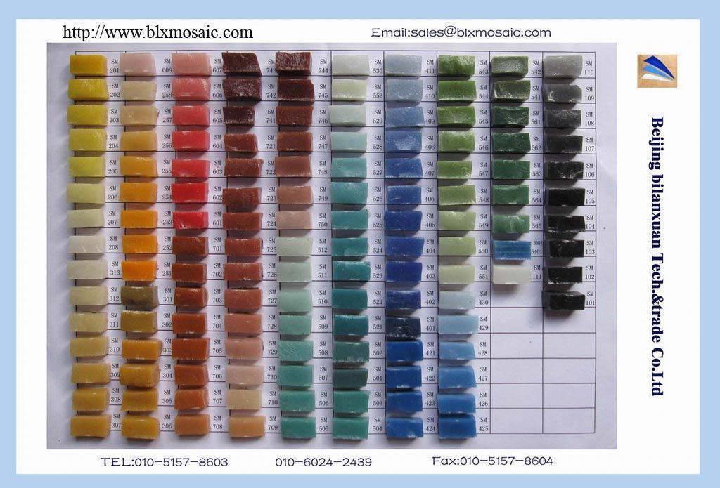 Smalti mosaic, Buy from Beijing Bilanxuan Tech & Trade Co