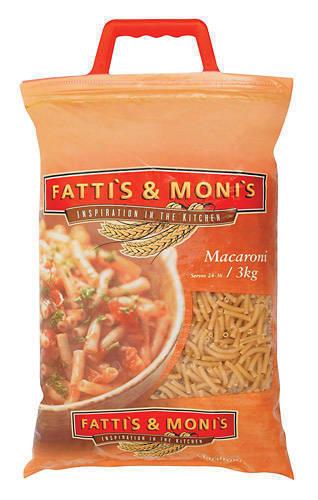 Fattis & Monis Macaroni, Buy from Rbc Distributors  South