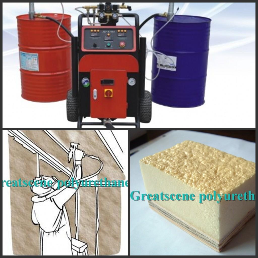 Polyurethane spray foam machine, Buy from Jinan Greatscene