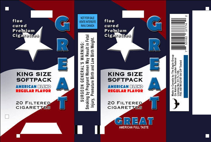 Flame - King Size Cigarettes, Buy from The Eagle Group