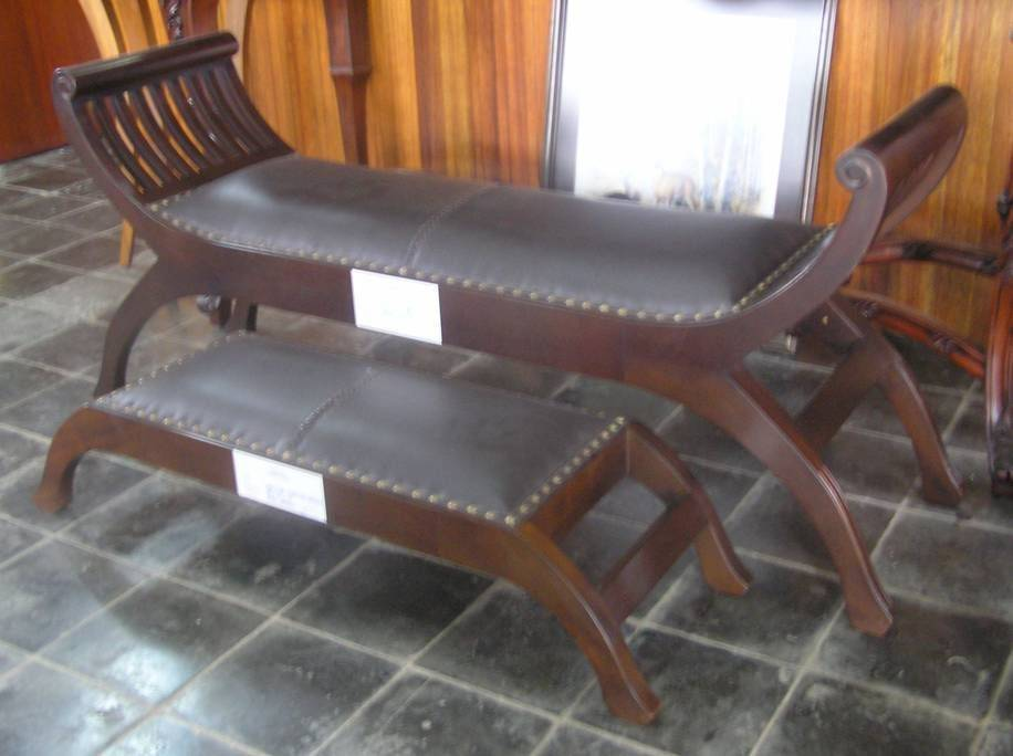 Kartini Bench+Stool, Buy from Efurnitrade  Indonesia - Raya