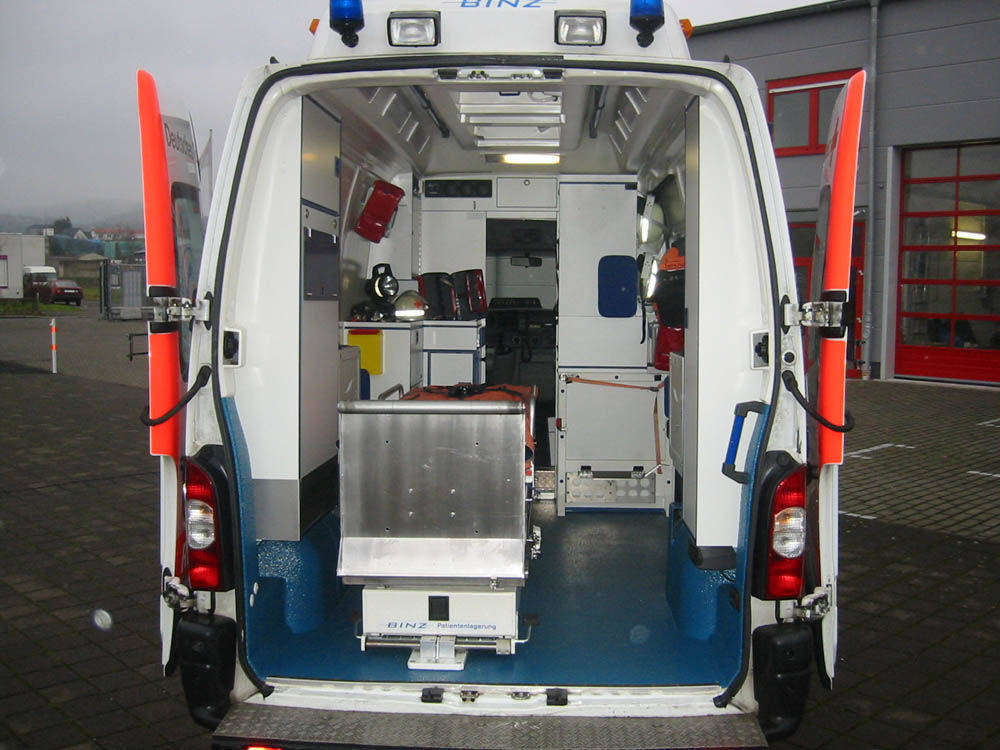 Used Ambulances, Buy from International Trading & Project