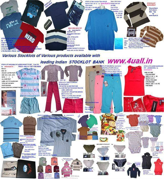 STOCK Lots various Garments 4uall, Branded/N-Branded by www
