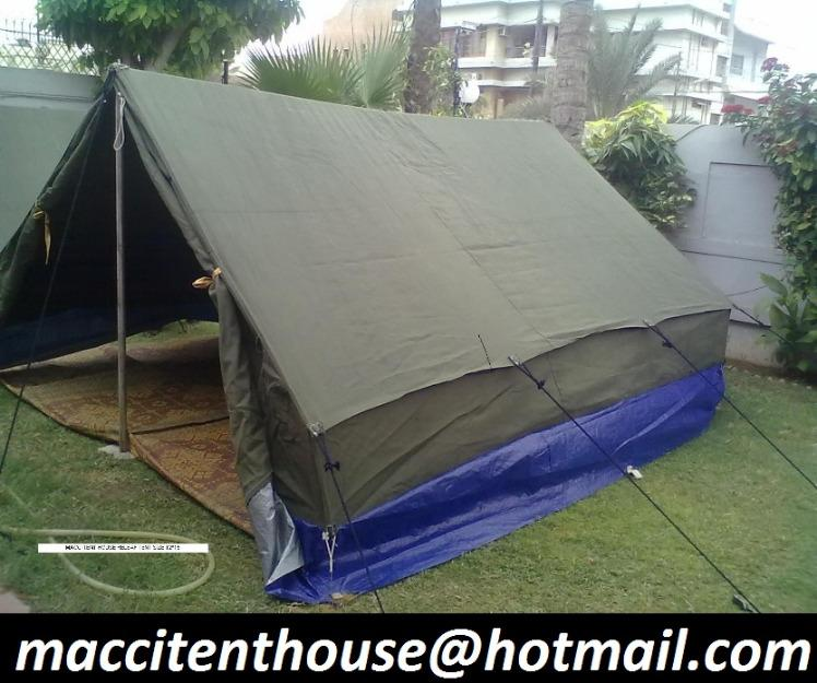 Relief Tent, Buy from Macci Tent House  Pakistan - Sindh - European