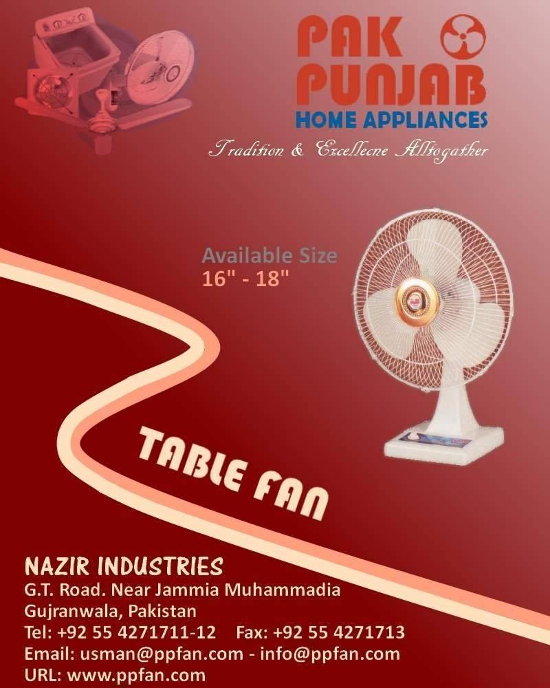 Electric Fan, Buy from Pak Punjab Fans  Pakistan - Punjab