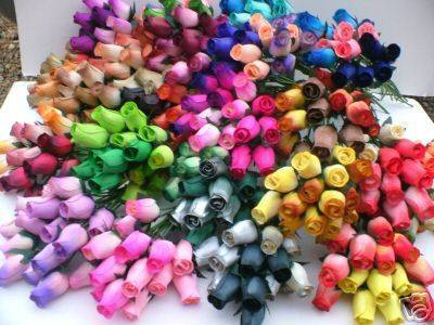 Wooden Roses Buy From Bulk Wholesale Uk South Scotland