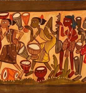 Folk Art Paintings Of Karnataka
