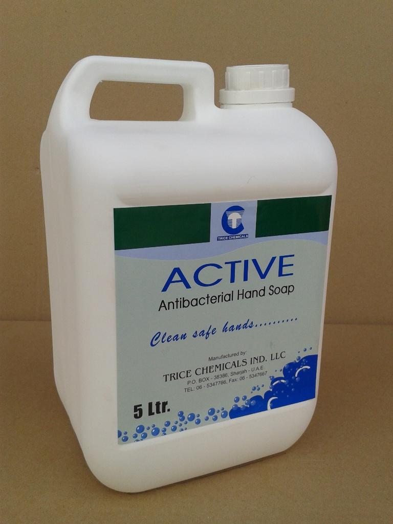 Thrill - liquid handsoap, Active - Antibacterial Handsoap