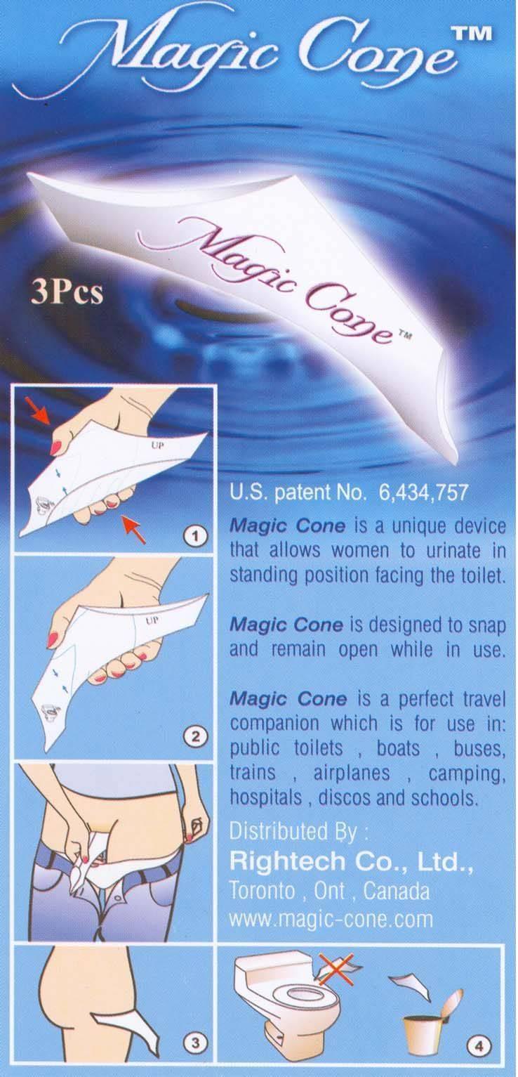 Magic Cone, Buy from Rightech Co , Ltd  Canada - Ontario - European