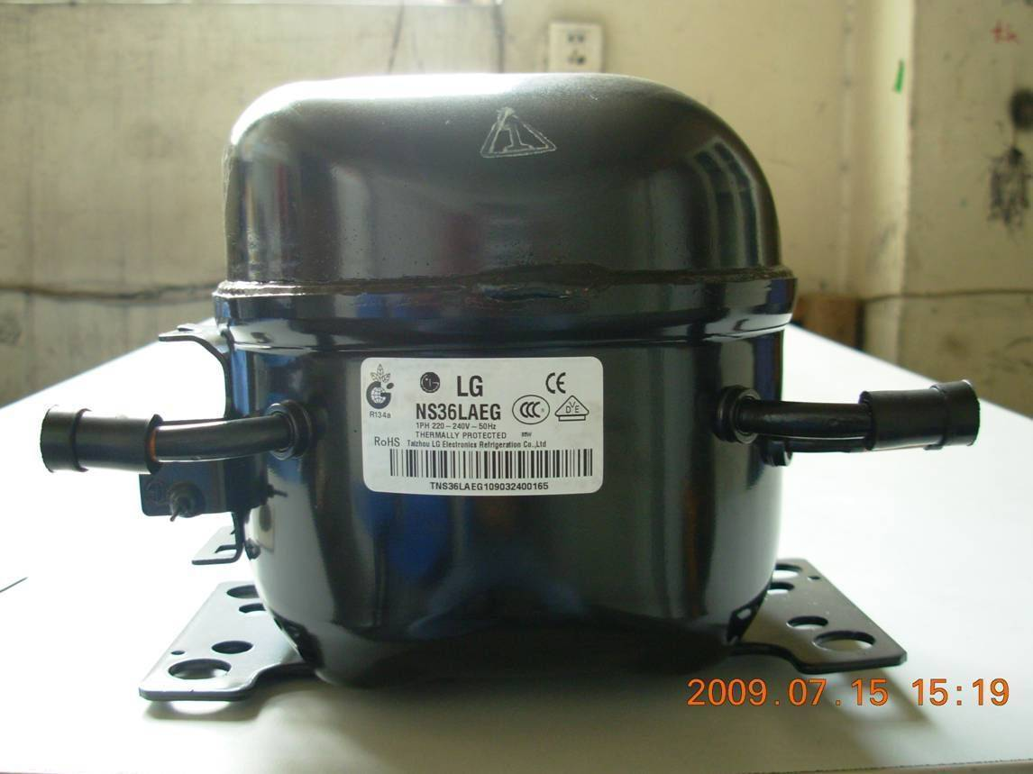 Lg Refrigeration Compressor With R134a And R600a Buy From