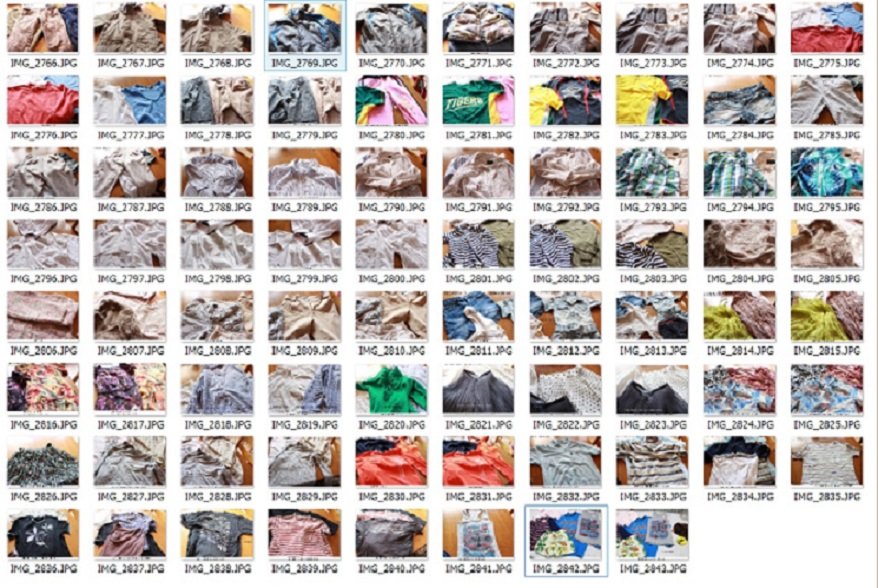 All kind of used clothing, rags, wipers etc , Buy from