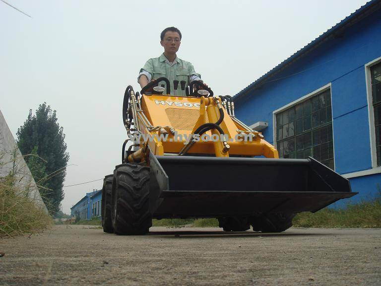 Mini skid steer loader, Buy from Tai'an Hysoon Machinery