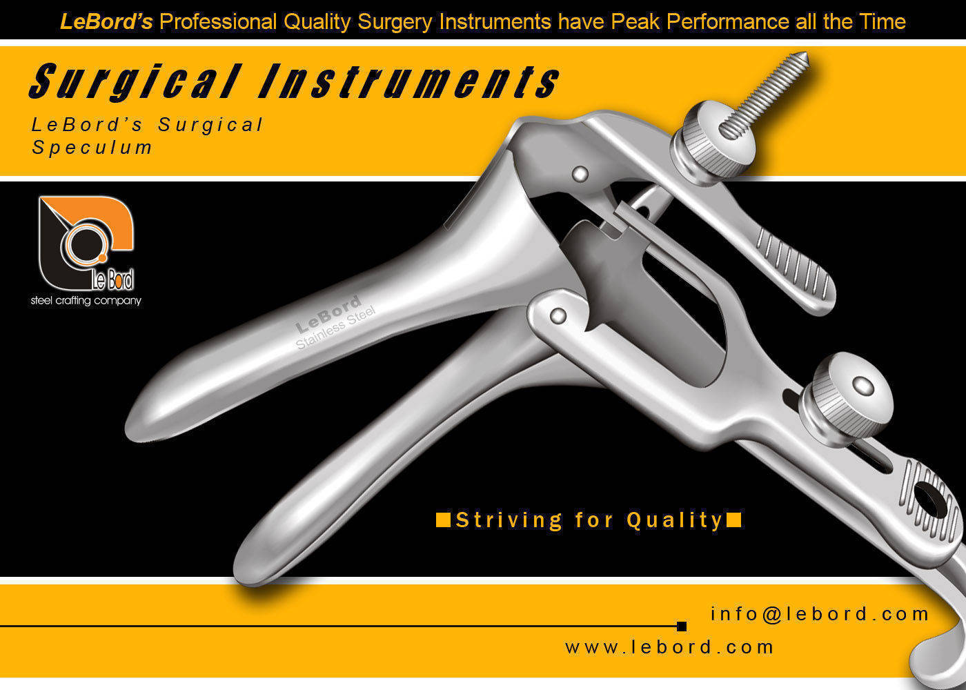 Orthopedic Instruments, Buy from Lebord (Surgical