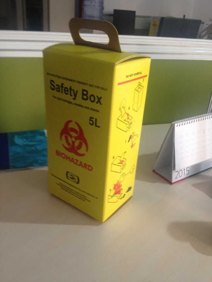 5L Medical Safety box, Buy from Qingdao Jihai Import And Export Co