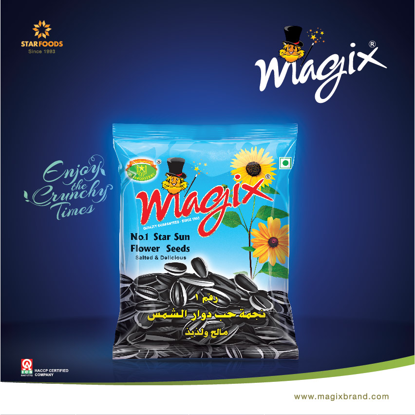 Roasted and Salted Sunflower Seeds, Buy from Star Foodstuff