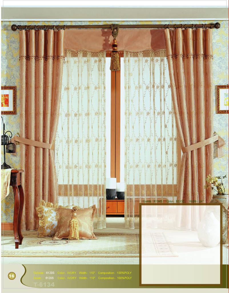Curtains, Buy from CANARY HOME TEXTILE CO LTD  China