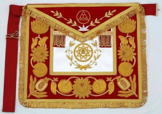 Embroidered Aprons, Buy from Fraternal Masonic Regalia