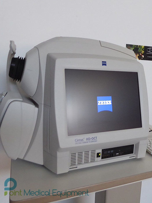 Zeiss Cirrus HD-OCT 4000 Retina Tomographer Used for Sale, Buy from