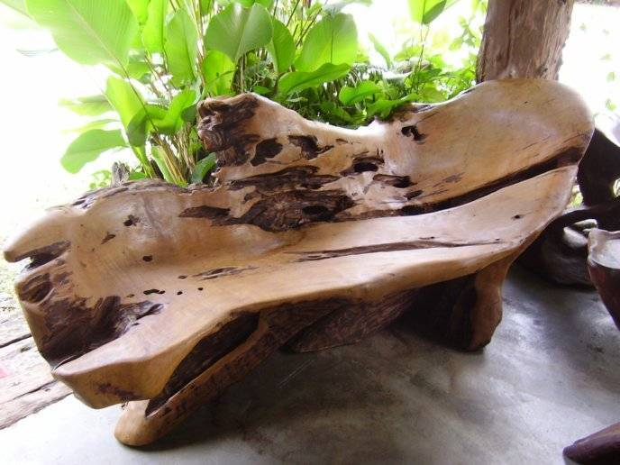 Exclusive Tree Root Carving Tea Table Buy From Sahamit