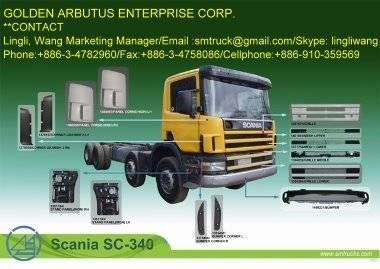 VOLVO FL-12 TRUCK BODY PARTS, Buy from Golden Arbutus