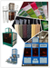 Grain processing machine packing machine color sorter and grain dryer