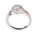 Fashion jewelry, 18k gold diamond ring, wedding ring