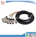 DB25 to 8-port 3XLR cable 3 meters
