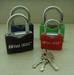 Arc iron padlock, padlocks, locks, brass padlocks