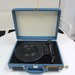 Retro suitcase turntable player