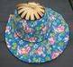 Bamboo and cotton folding fanhats