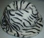 Angora Moulded Hat With Printing
