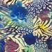 High quality digital printed silk fabric