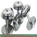 Chromed Dumbbell Set