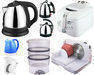 Coffee maker, deep fryer, blender, food processor, electric kettle