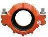 Ductile iron coupling and cable sleeve
