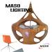 Hot sale Project Indoor Resin Pendant Lamp Maso MS-P1047L E27 LED 5w