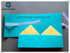 Folding magnet ribbon cardboard box