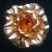 Gold foil flower