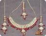 22kt. Goldplated Beaded Kundan Set