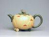 Purple clay tea pot